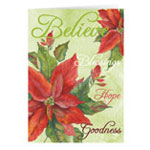 Christmas Cards - The Legend of the Poinsettia Personalized Christmas Card - Set of 20