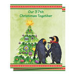 Christmas Cards - Our Years Together Personalized Christmas Card - Set of 20