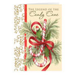 Christmas Cards - The Legend of the Candy Cane Personalized Christmas Card - Set of 20