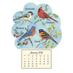 Labels & Stationery - Songbird Mini Magnetic Calendar