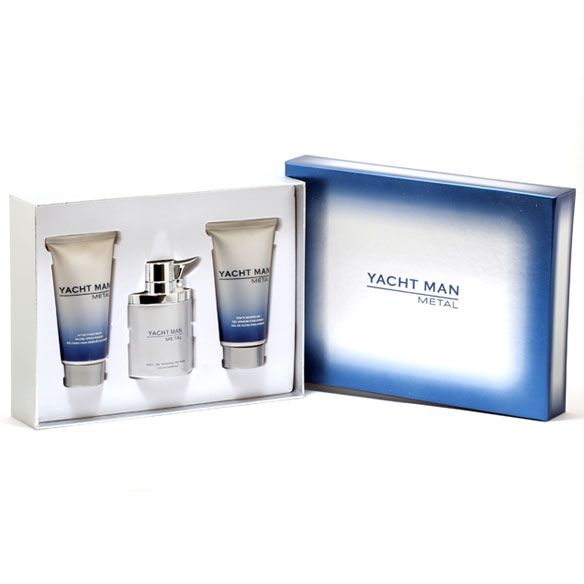 Yacht Man Metal Fragrance Set