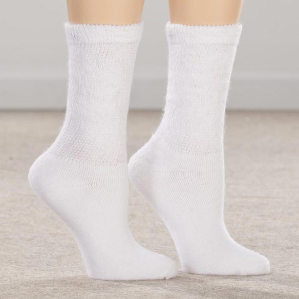 Healthy Steps™ 3 Pack Extra Plush Diabetic Socks - View 1