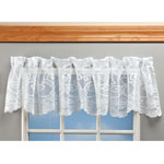 Decorations & Accents - Magnetic Floral Lace Valance