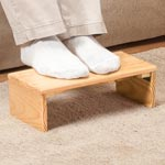 Accent Furniture - Folding Footrest by OakRidge™