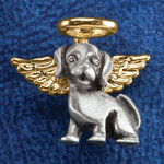 Jewelry & Accessories - Dog Angel Pin
