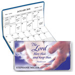 "Calendars - ""In God's Hands"" Personalized 2 Yr Planner"