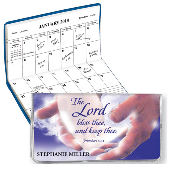 """In God's Hands"" Personalized 2 Yr Planner"