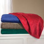 Comfy & Cozy - Oversized Plush Blanket by OakRidge™ Comforts