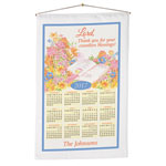 Calendars - Countless Blessings Personalized Calendar Towel
