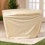 Maintenance & Repair - Beige Gas Grill Cover