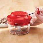 Thanksgiving Cooking Helpers - Easy-Pull Chopper by Home-Style Kitchen™