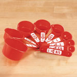 Thanksgiving Cooking Helpers - 9-Pc. Measuring Cup Set by Home-Style™ Kitchen