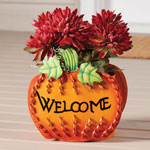 Decorations & Storage - Welcome Pumpkin Planter by Maple Lane Creations™