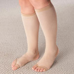 Flash Sale - Stirrup Compression Stockings with Gel, 15–20 mmHg