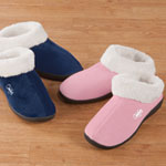 Gifts for Her - Easy Comforts Style™ Memory Foam Booties