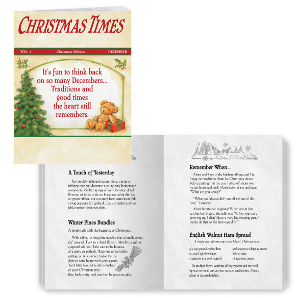 Christmas Times Cards, Set of 20