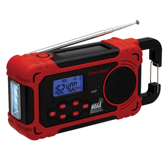 First Alert® AM/FM Weather Band Radio