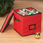 Decorations & Storage - 64-Cell Ornament Storage Box