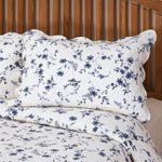 East Wing Comforts - Blue Floral Sham by East Wing Comforts™