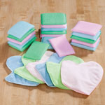 Cleaning & Repair - Sponge and Cleaning Mitt Set, 24 Pc.