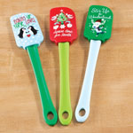 Decorations & Storage - Assorted Holiday Spatulas