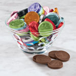 Candy & Fudge - Fort Knox Mixed Color Milk Chocolate Pennies