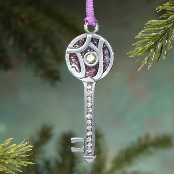 The Key to Joy Pewter Ornament