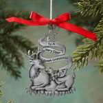 Decorations & Storage - Very Dear Great Grandchild Pewter Ornament
