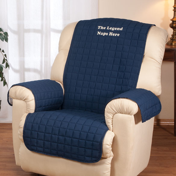 Personalized Warm Color Recliner Cover by OakRidge Comforts™ - View 1