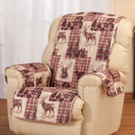 Decorations & Accents - Woodland Microfiber Recliner Cover