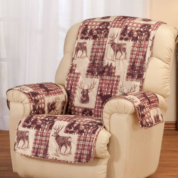 Woodland Microfiber Recliner Cover