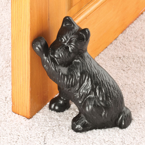 Cast Iron Dog Doorstop - View 1