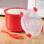 Bakeware & Cookware - Microwave Rice Steamer