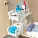 Bath Accessories - 2-Tier Sliding Shelves
