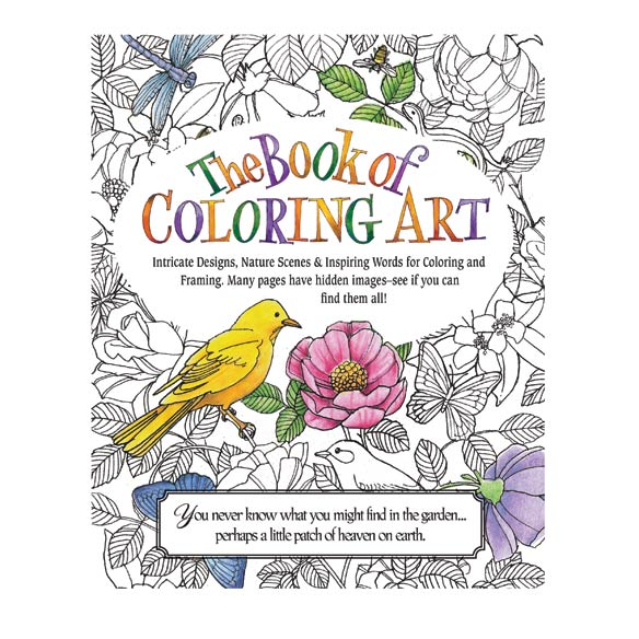 the book of nature coloring book zoom - Nature Coloring Book