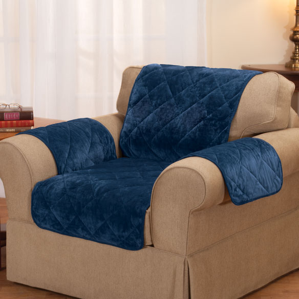 Fine Velvet Chair Protector by OakRidge Comforts™