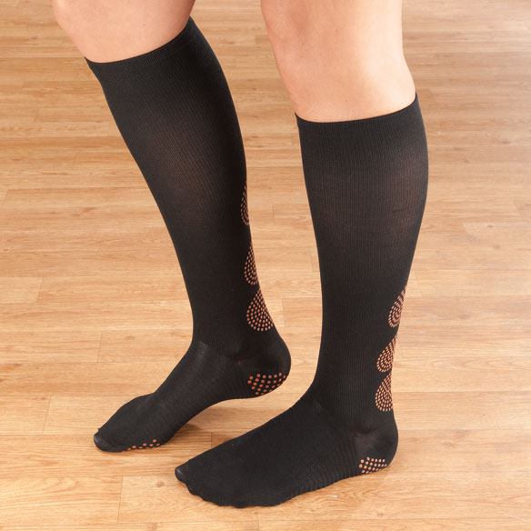 Magnetic Compression Socks 10–15 mmHg
