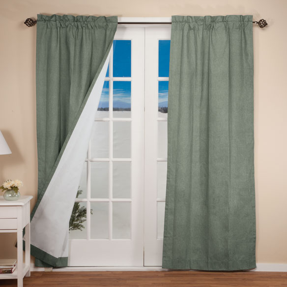 Pole Top Energy Saving Curtains - View 1