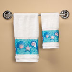 Bath Accessories - Oceanic Printed Hand Towel