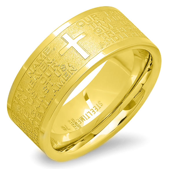 Lord's Prayer Ring