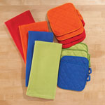 Kitchen - Solid 3 Piece Kitchen Towel Set