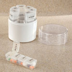 Supplements & Creams - Weekly Pill Holder