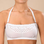 Undergarments - Easy Comforts Style™ Strapless Lace  Bra With Removable Straps