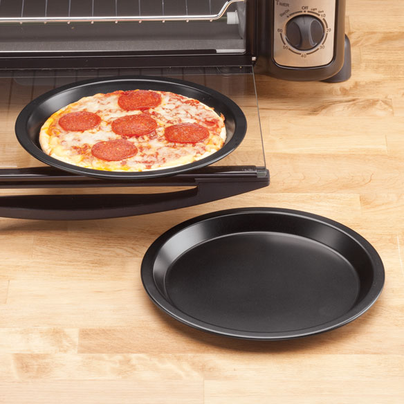 Toaster Oven Pizza Pans by Home-Style Kitchen ™ - Set of 2