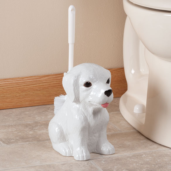 Dog Toilet Brush Holder - View 1