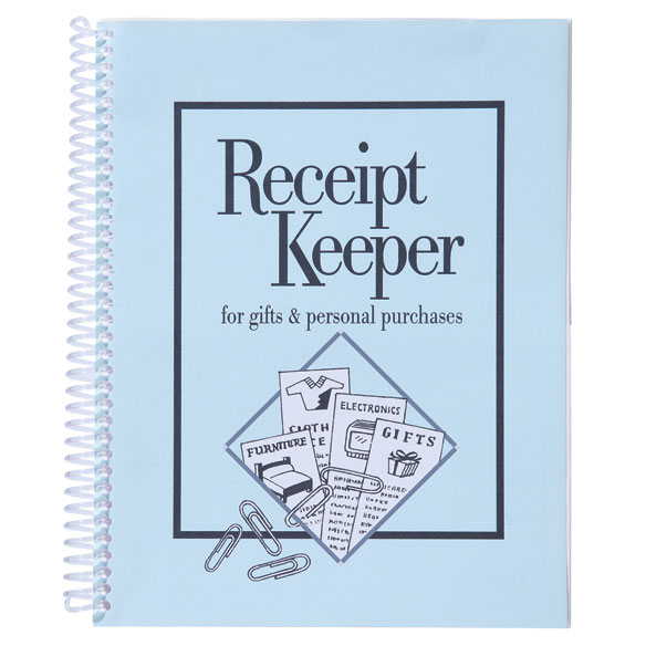 Receipt Keeper - View 1
