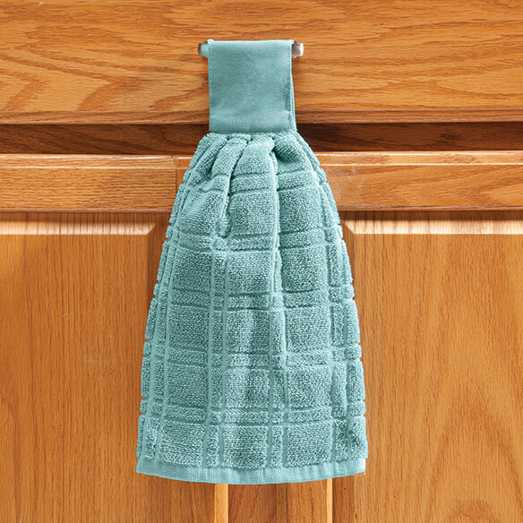 Cotton Hanging Towel - Solid - View 1