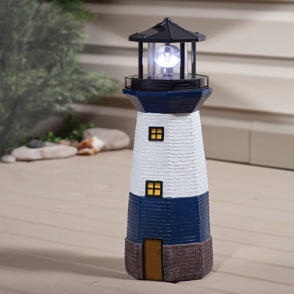 Solar Lighthouse by Maple Lane Creations™