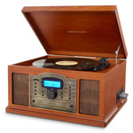 Home Entertainment - Crosley Troubador 3-Speed Turntable with USB/SD Card Reader