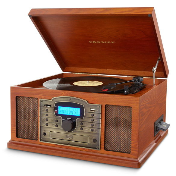 Crosley Troubador 3-Speed Turntable with USB/SD Card Reader